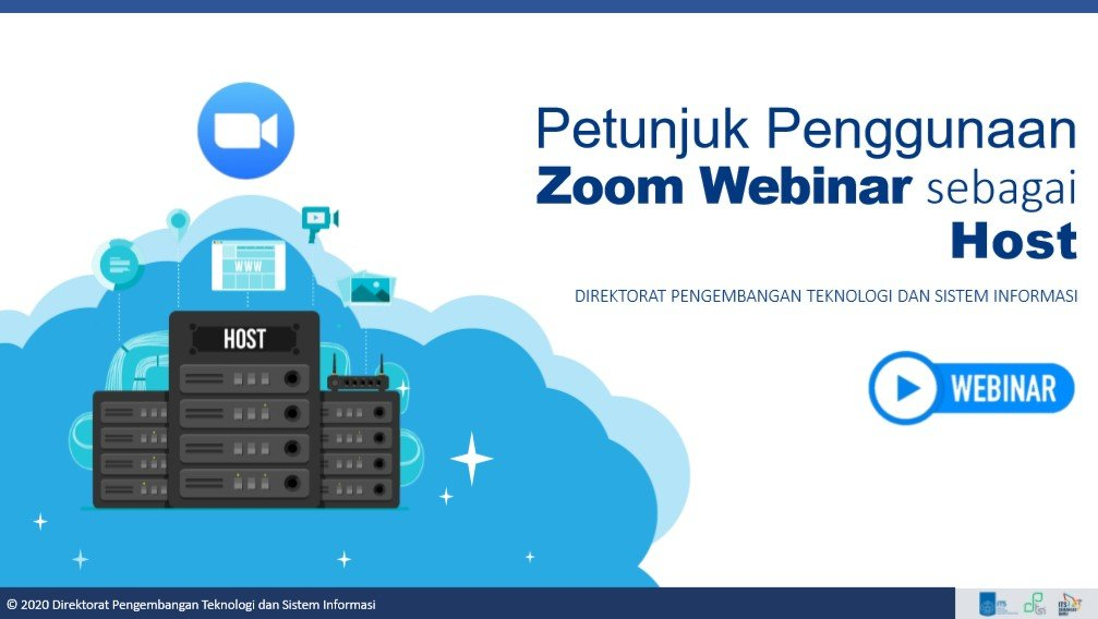 Panduan Host pada Zoom Webinar