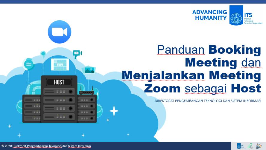 Panduan Booking Zoom Meeting dan Menjadi Host pada Zoom Meeting