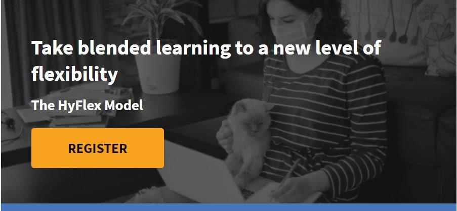 Webinar Take Blended Learning to A New Level of Flexibility (The HyFlex Model of Learning) Bersama Blackboard