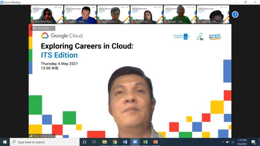 """DPTSI Webinar Series : """"Exploring Careers in Cloud: ITS Edition"""""""