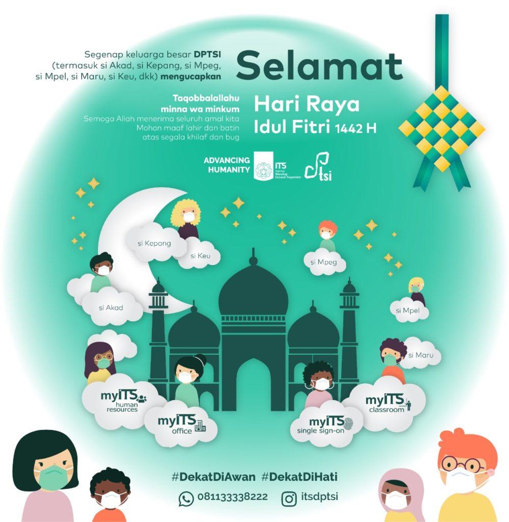 Halal Bihalal Virtual DPTSI – Hari Raya Idul Fitri 1442 H