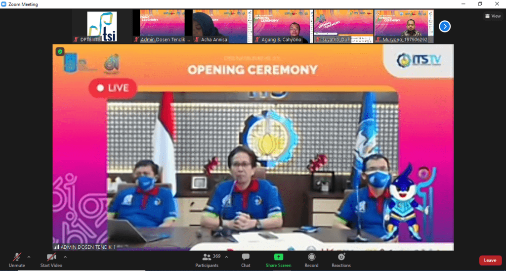The 61st ITS Opening Ceremony
