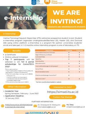 e-Internship - Spring 2022