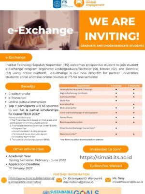 e-exchange - Fall 2021