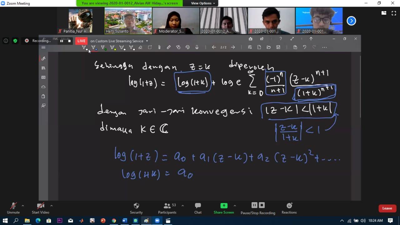 Fun Mathematics Competition 2020