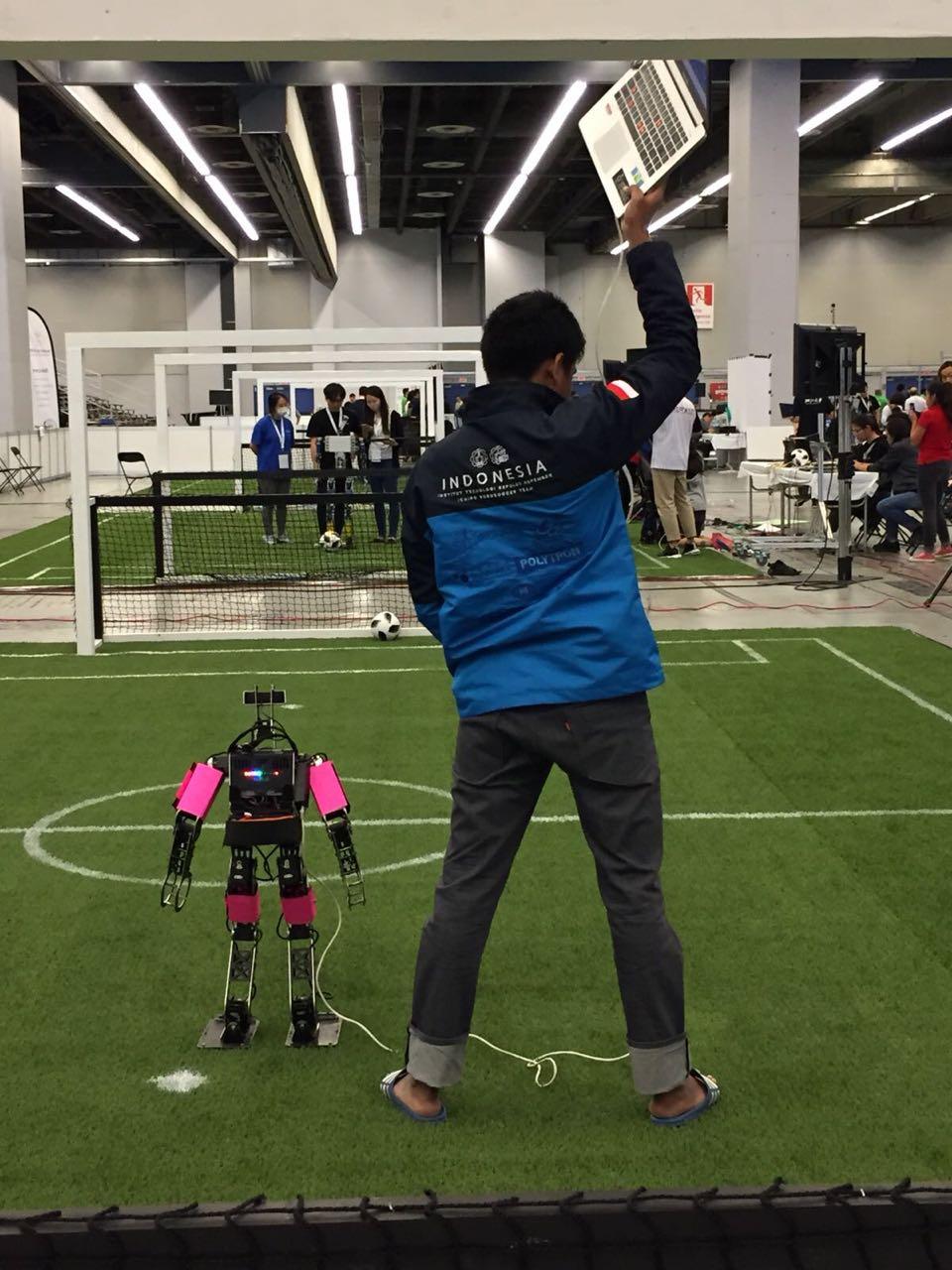 Tim Ichiro ITS Jawara RoboCup 2018 di Kanada - ITS News