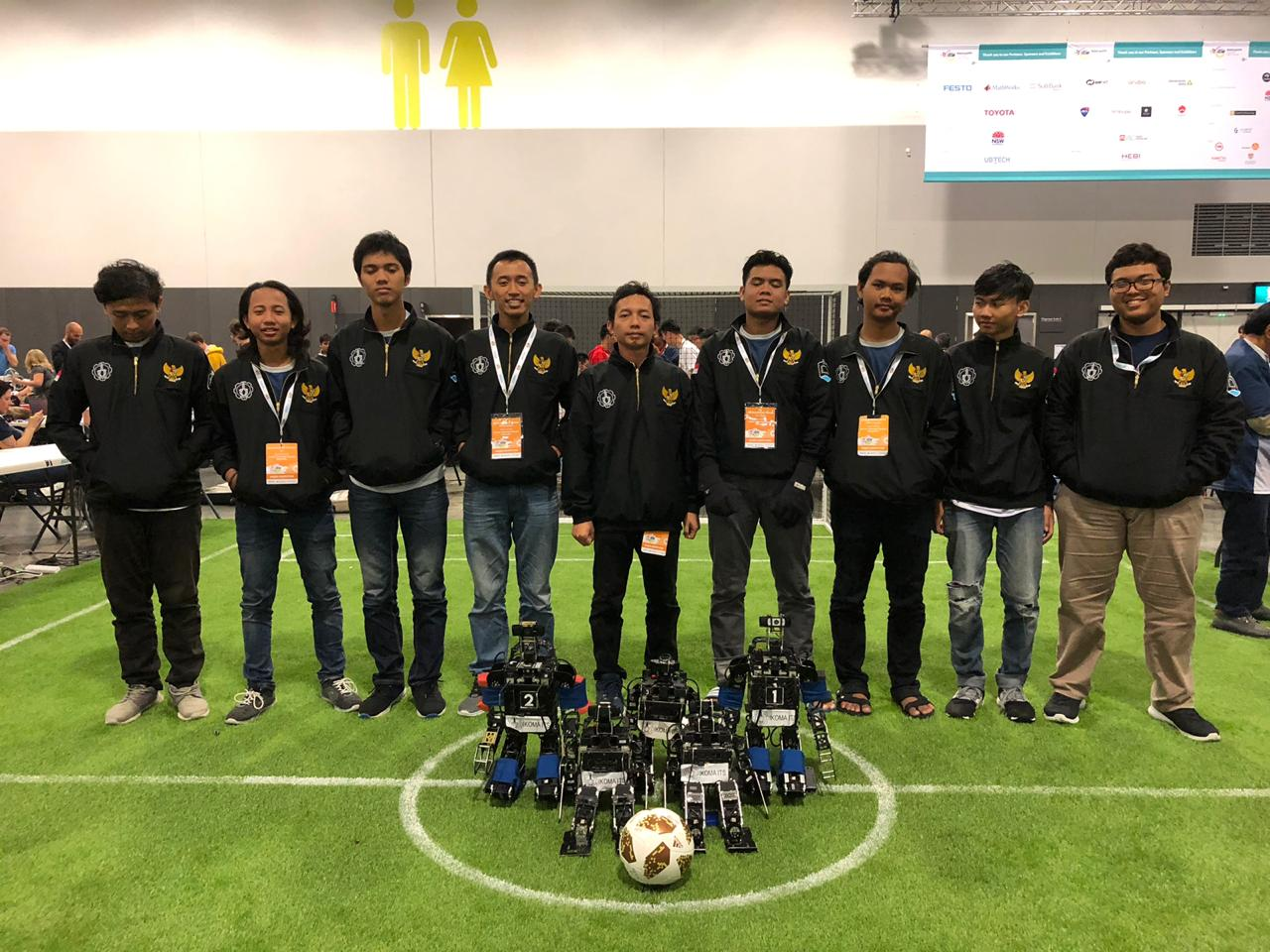 ITS Soccer Robot Team Win Robocup 2019 in Australia - ITS News