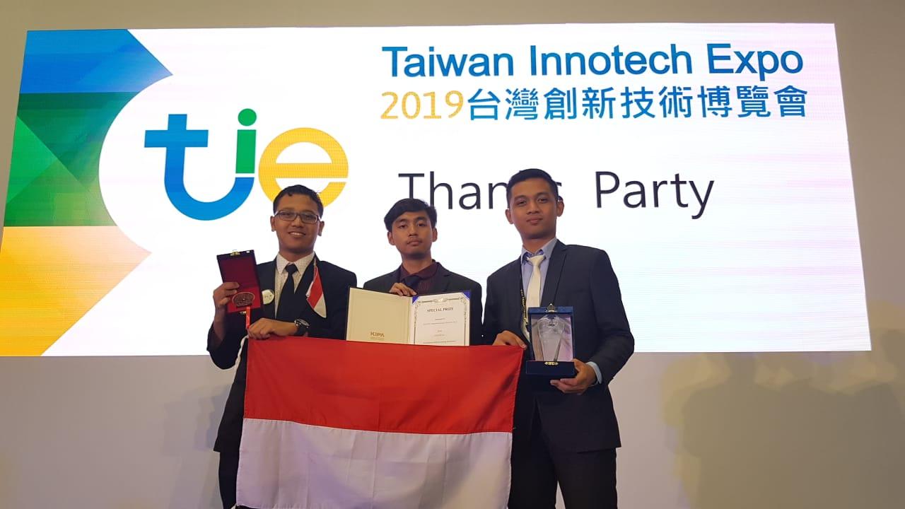 Estudiantes de ITS ganan dos premios en Taiwán