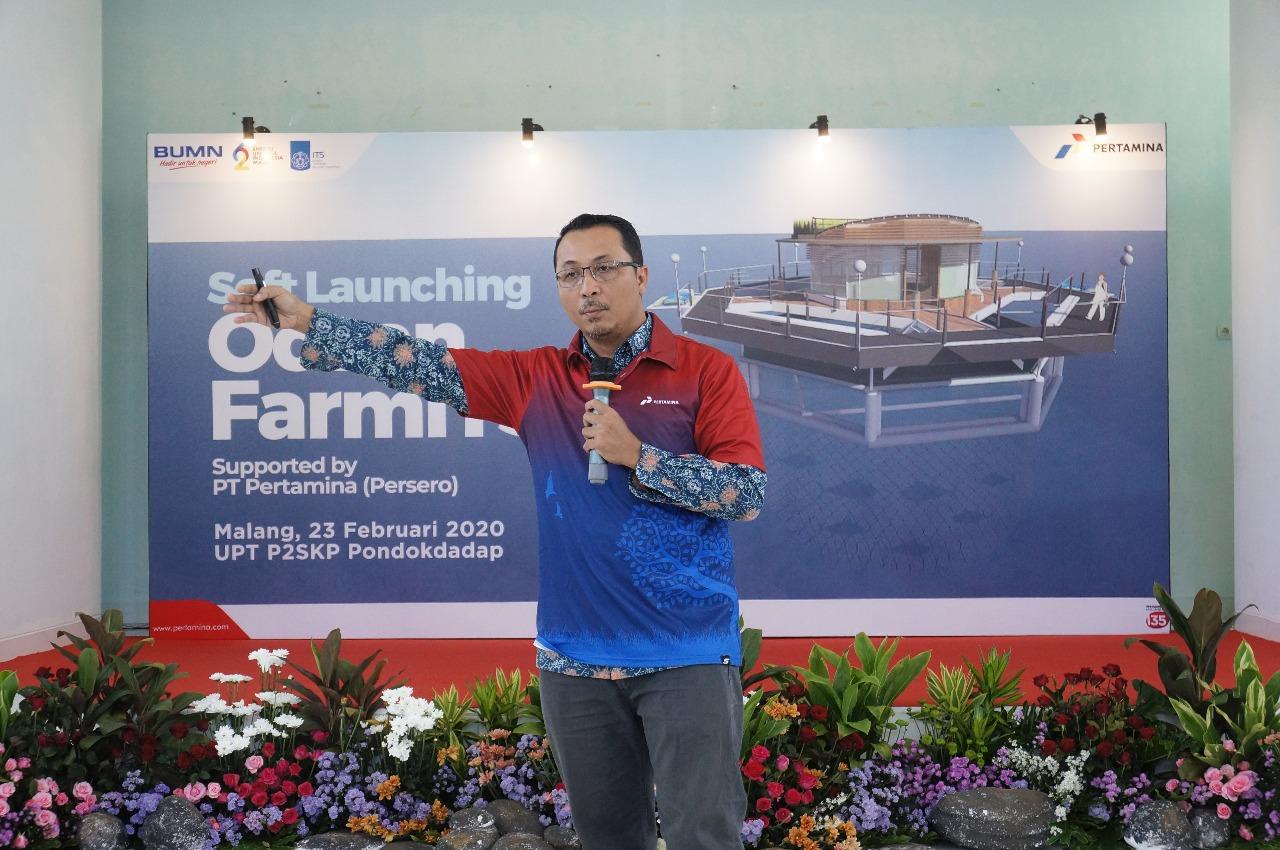 Dr Eng Yeyes Mulyadi ST MSc - Ocean FarmITS