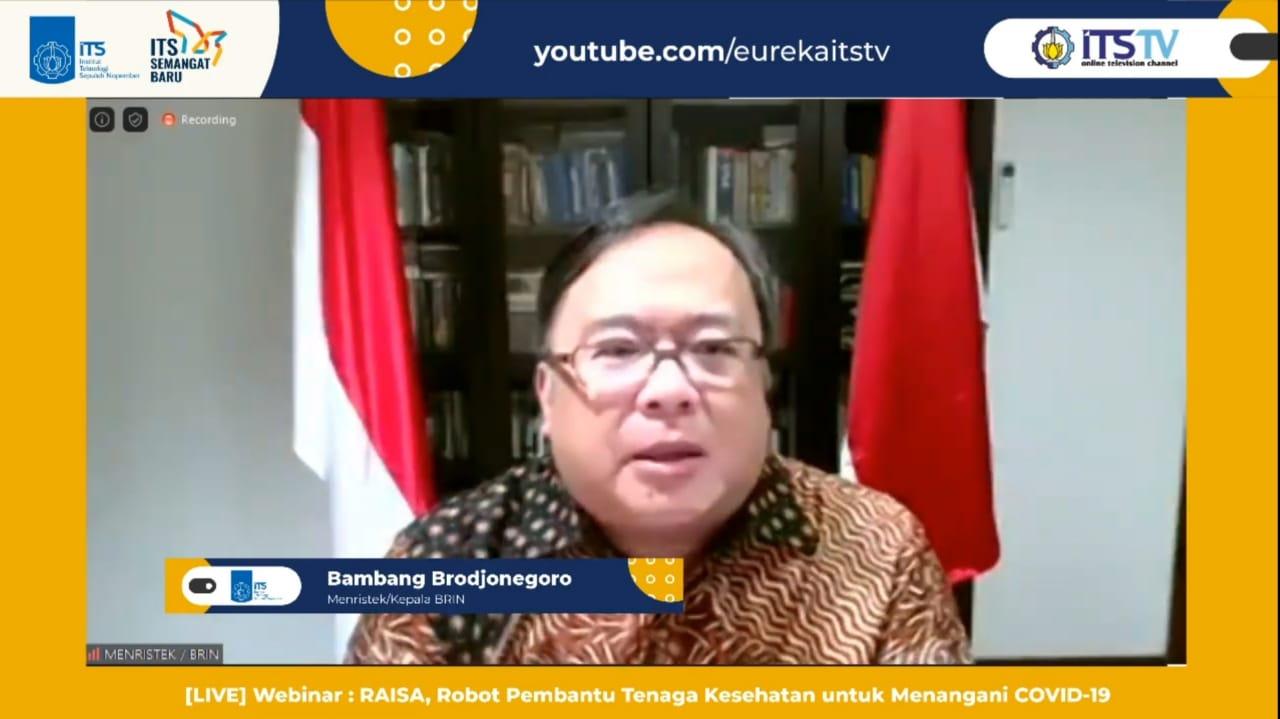 Menristek Kepala Brin Prof Bambang Permadi Soemantri Brodjonegoro