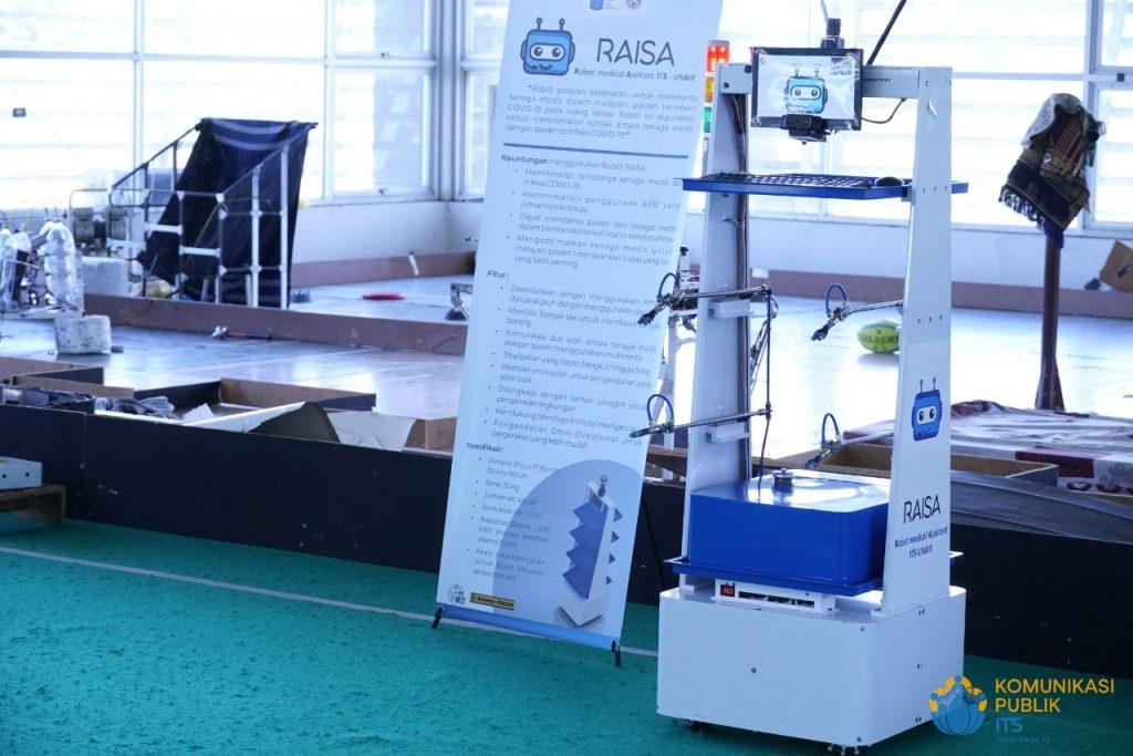 RAISA-versi-Disinfektan-dilengkapi-dengan-tangki-bermuatan-cairan-disinfektan-dan-empat-sprayer