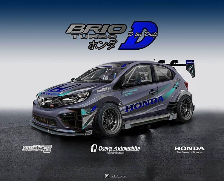 Brio Turbo D, desain karya Muhammad Haekal Shafi pemenang juara 1 Brio Virtual Modification #3