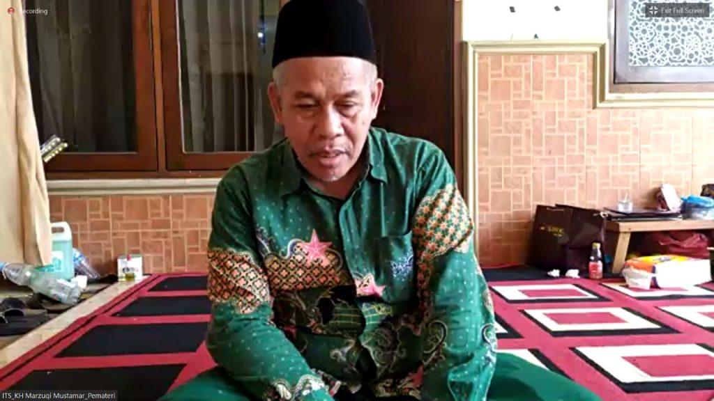 KH Marzuqi Mustamar menjadi salah satu pemateri PSB yang mengangkat topik spiritual