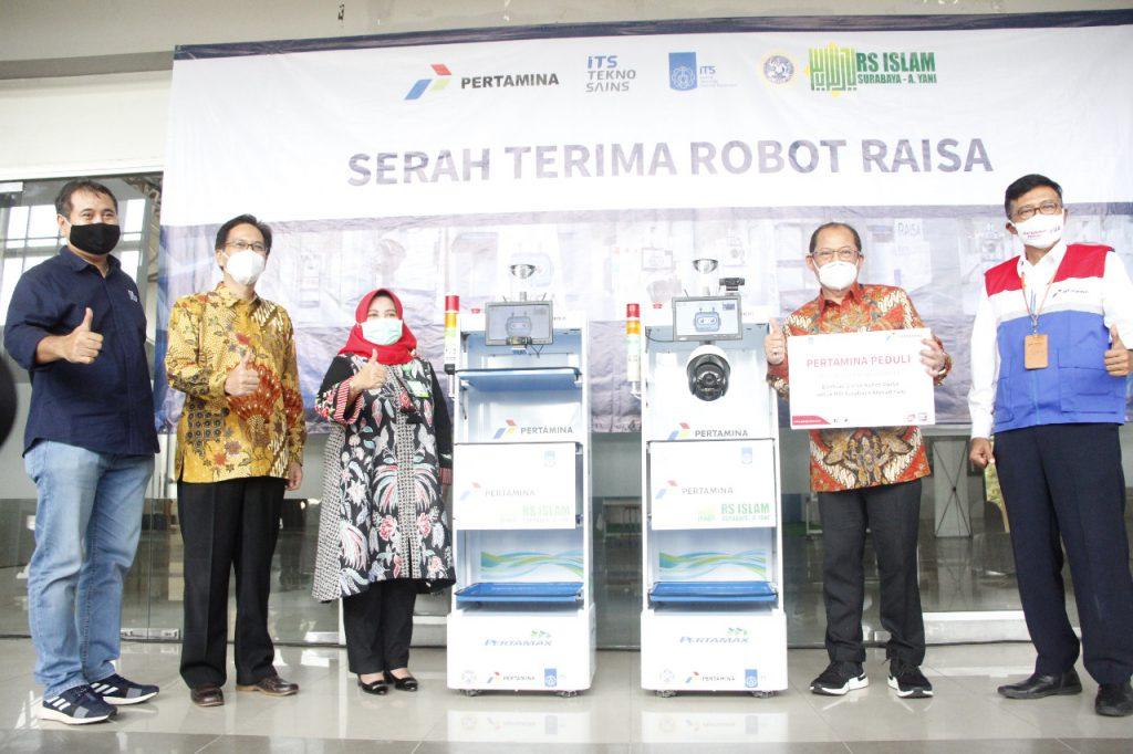 (dari kiri) Dr Ir I Ketut Gunarta MT, Prof Dr Ir Mochamad Ashari MEng,, drg Laily Rachmawati Sp Perio, dr H Samsul Arifin MARS, dan C D Sasongko