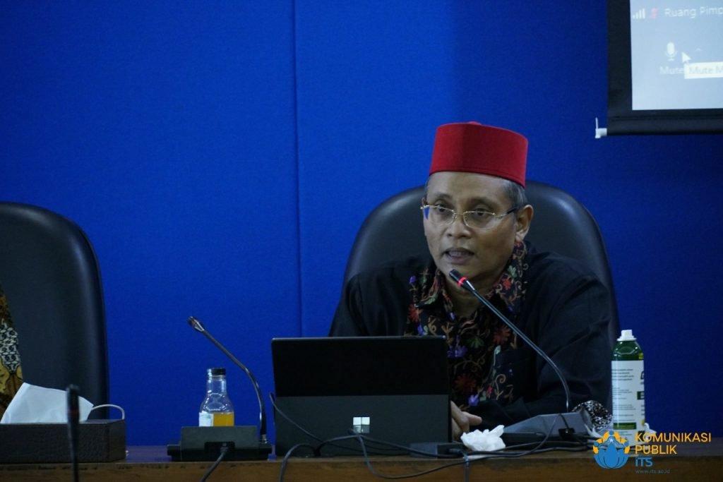 Ketua panitia BUMDes Award 2020 Dr Ir Arman Hakim Nasution M Eng ketika menyampaikan sambutannya
