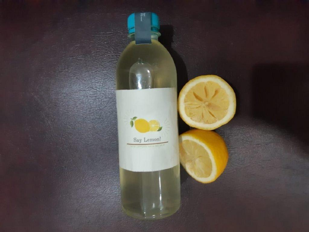 SayLemon, produk sari buah lemon tanpa bahan pengawet buatan dua mahasiswa ITS