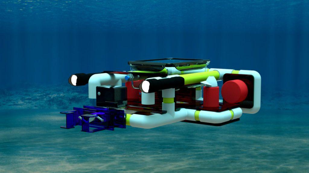 Desain 3D Robot Wikraluga Tim Banyubramanta ITS