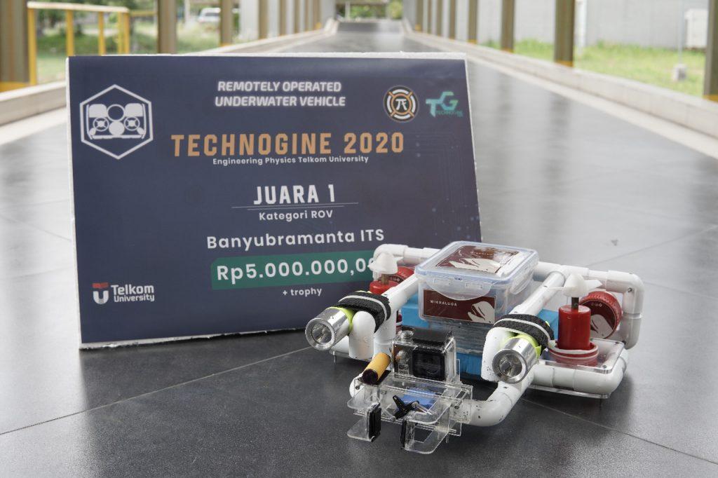 Prototipe Robot Wikraluga dari Tim Banyubramanta ITS