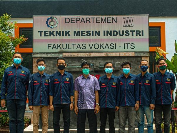Tim KKN dan Abmas Mahasiswa Teknik Mesin Industri Fakultas Vokasi ITS