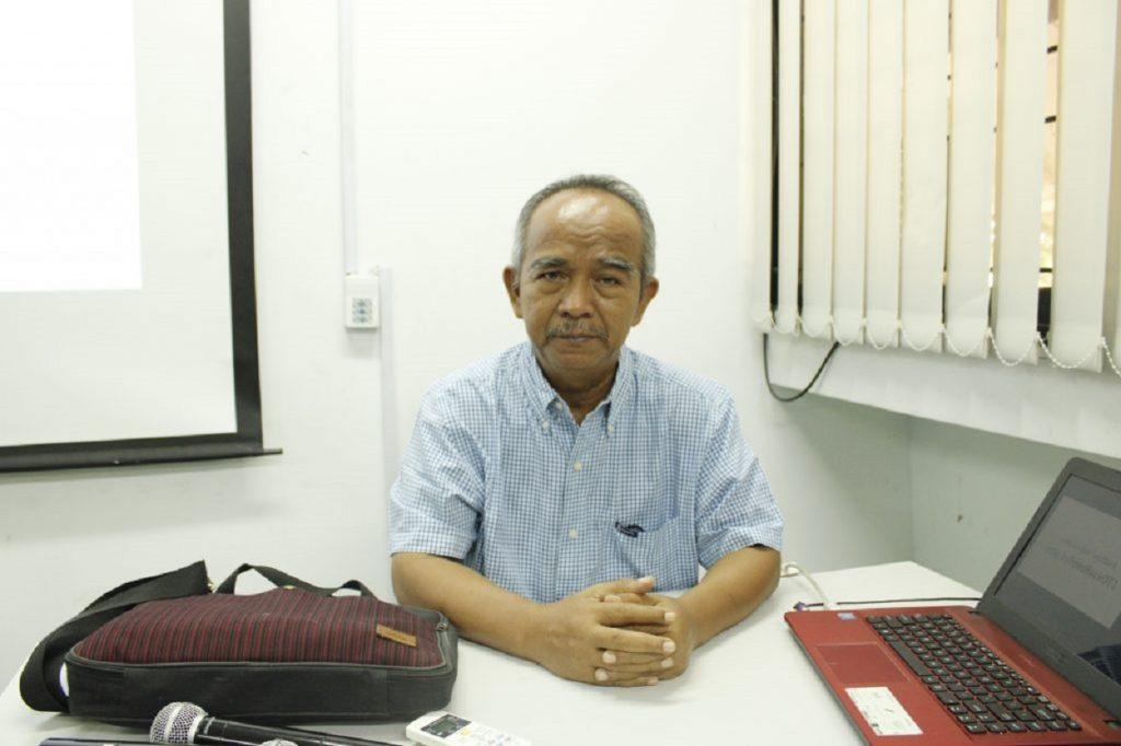 Peneliti Senior dari Pusat Penelitian Mitigasi, Kebencanaan dan Perubahan Iklim (MKPI) ITS, Dr. Ir. Amien Widodo, M.Si
