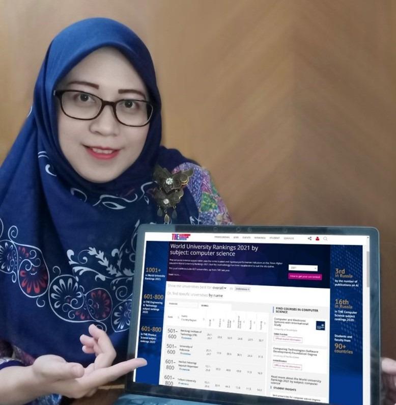 Rulli Pratiwi Setiawan ST MSc PhD, Manager Senior Urusan World Class University ITS