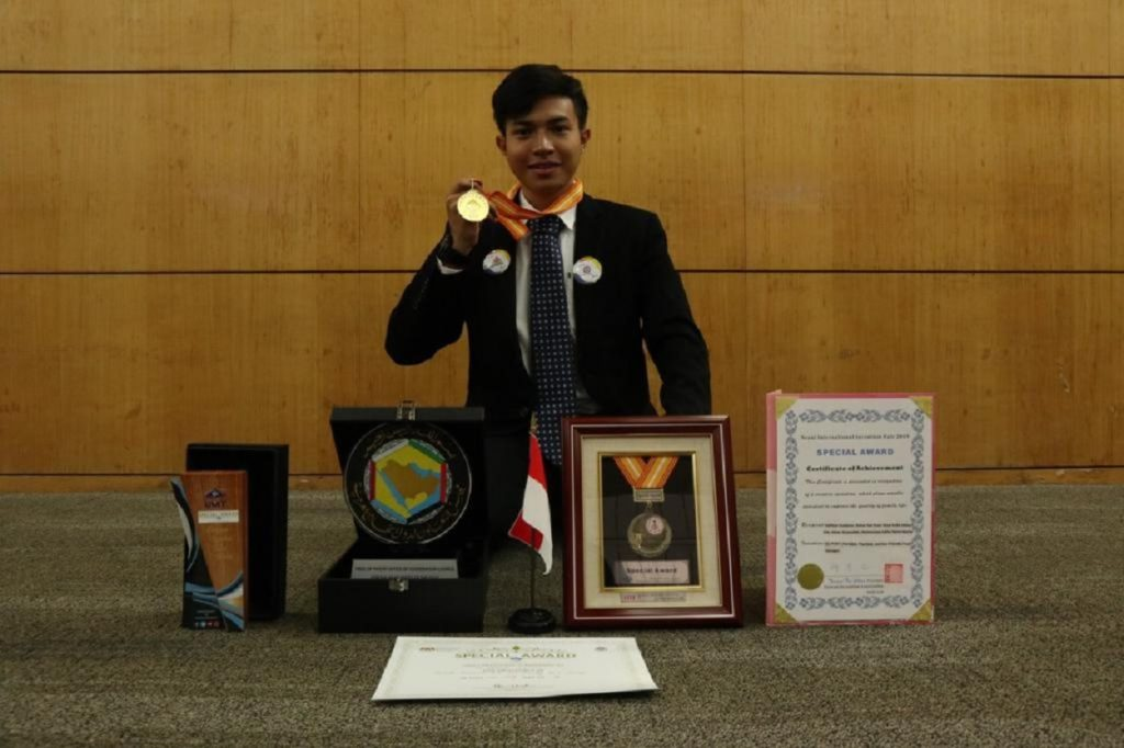 Muhammad Adrian Fadhilah and the various awards he received