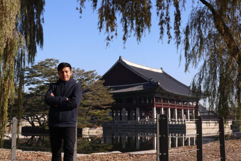 Muhammad Adrian Fadhilah while in South Korea to compete at IIF 2019