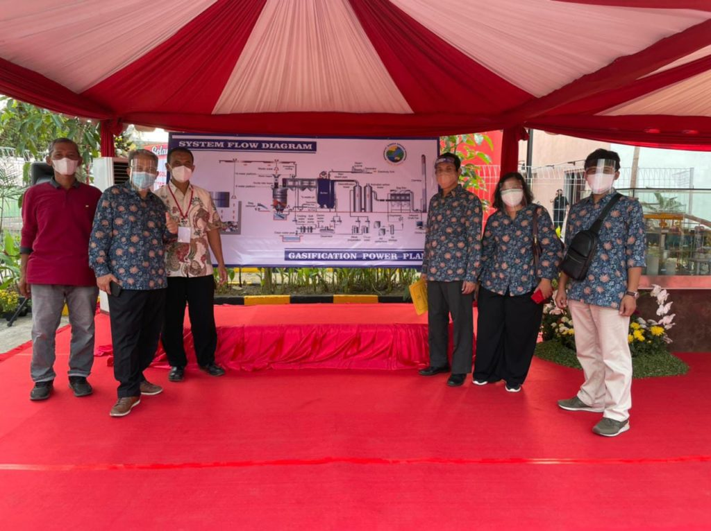The team of experts from ITS who played a role behind the operation of PSEL Benowo