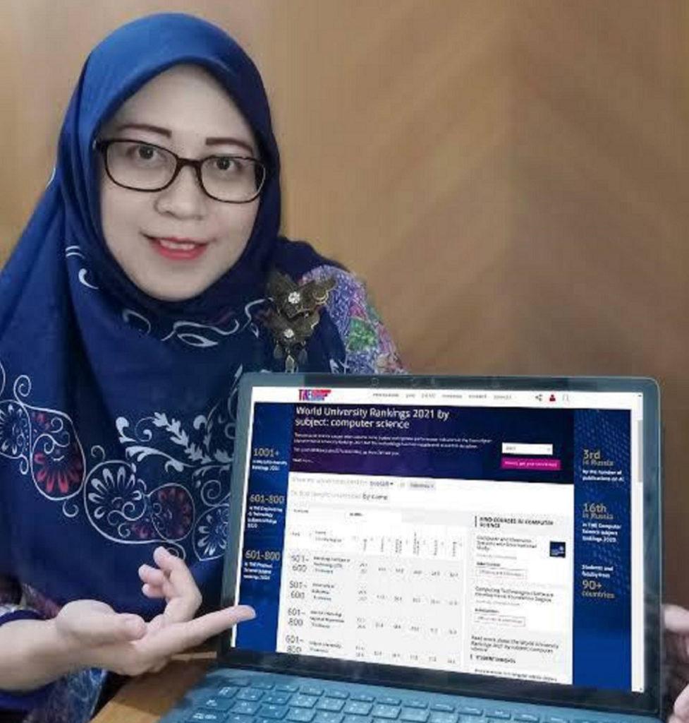 Rulli Pratiwi Setiawan ST MSc PhD, Senior Manager of ITS Global Engagement Office on World Class University Affairs