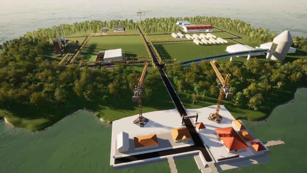 Rancangan Desain Jaks-Island sebagai pulau yang mengelola sampah secara terintegrasi