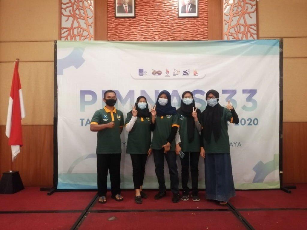 (dari kiri) Marde Fasma, Mery Yulinda Rahmi, Wahidatul Wardah Al Maulidiyah, Andrea Ernest, dan Nanda Novenia Shinta Hapsari