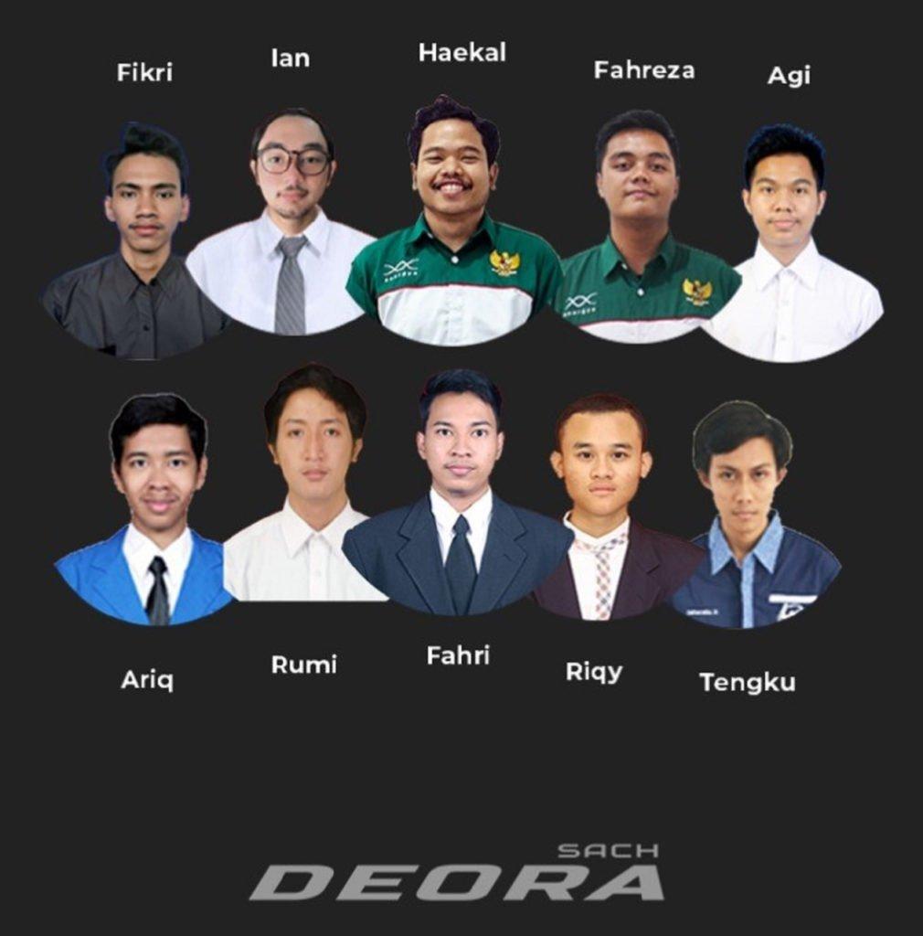 Para anggota tim SACH-MOLINA ITS, perancang mobil listrik i-Deora