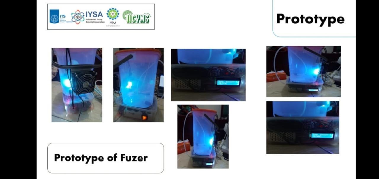 Prototipe FUZER yang dirancang tim IMM AWAN ITS guna menjaga kesegaran buah serta mengurangi risiko penyebaran Covid-19