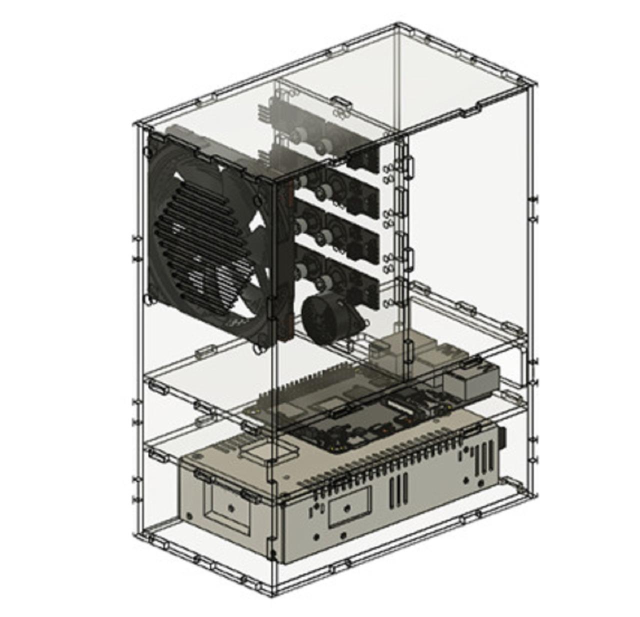 Peudecskin dalam tampilan tiga dimensi yang merupakan karya tim mahasiswa ITS