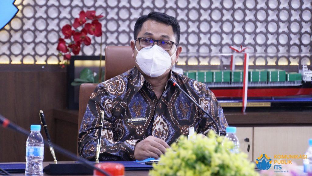 Sambutan Kepala BPS Jawa Timur Drs Dadang Hardiwan SSi MSi dalam acara penandatanganan MoU dengan BPS Jawa Timur