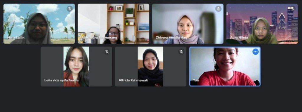 Sosialisasi website kepada mitra UMKM penyedia jasa selam rekreasional yaitu Surabaya Diving oleh tim Abmas ITS