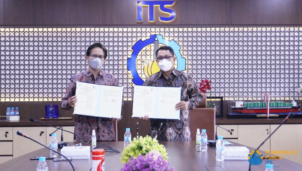 Usai penandatanganan nota kesepahaman antara ITS dengan Badan Pusat Statistik (BPS) Jawa Timur
