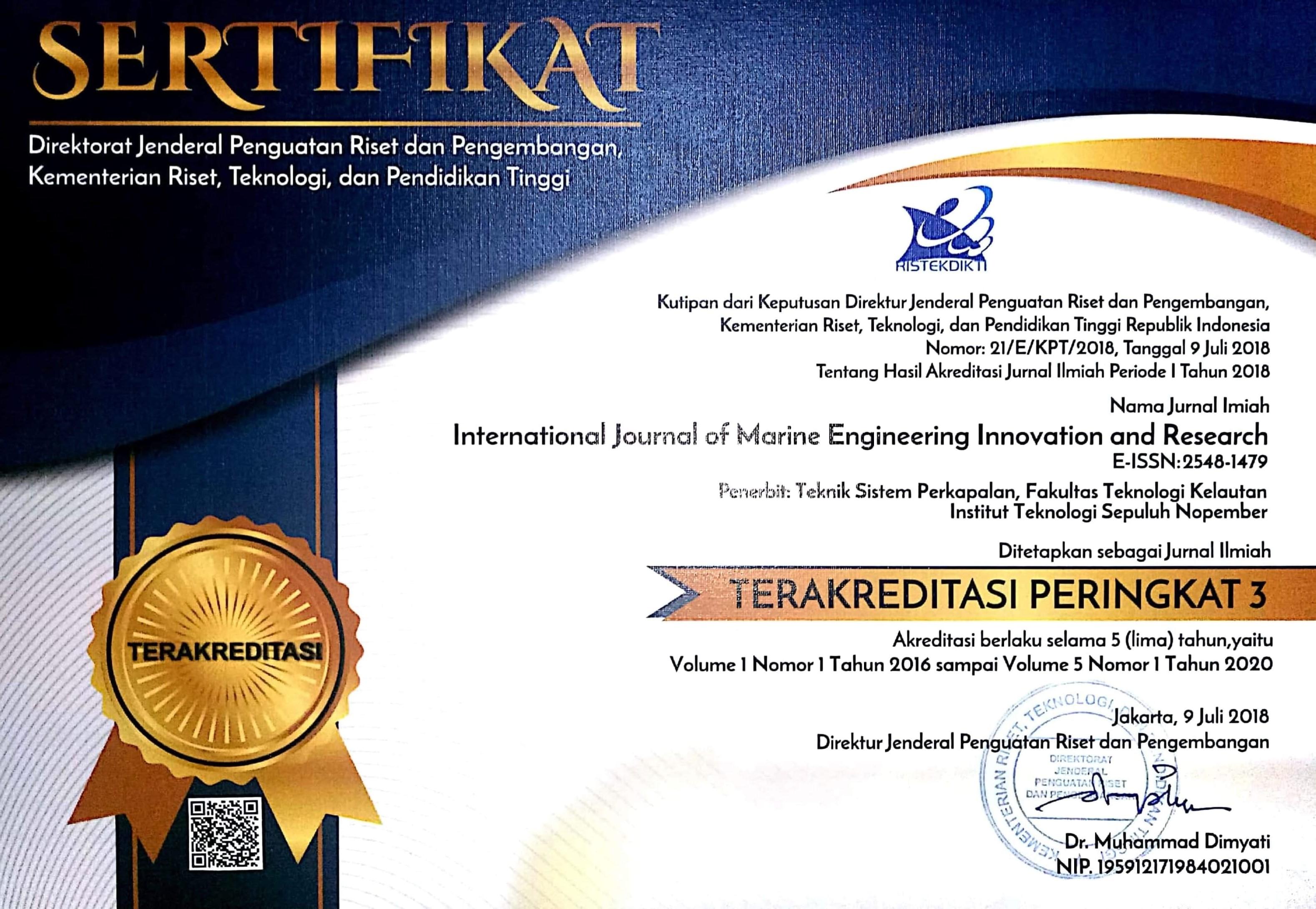 Penghargaan - Departemen Teknik Sistem Perkapalan