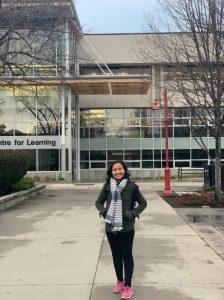 Yolanda Mustika Bohal, Student Exchange at Okanagan College