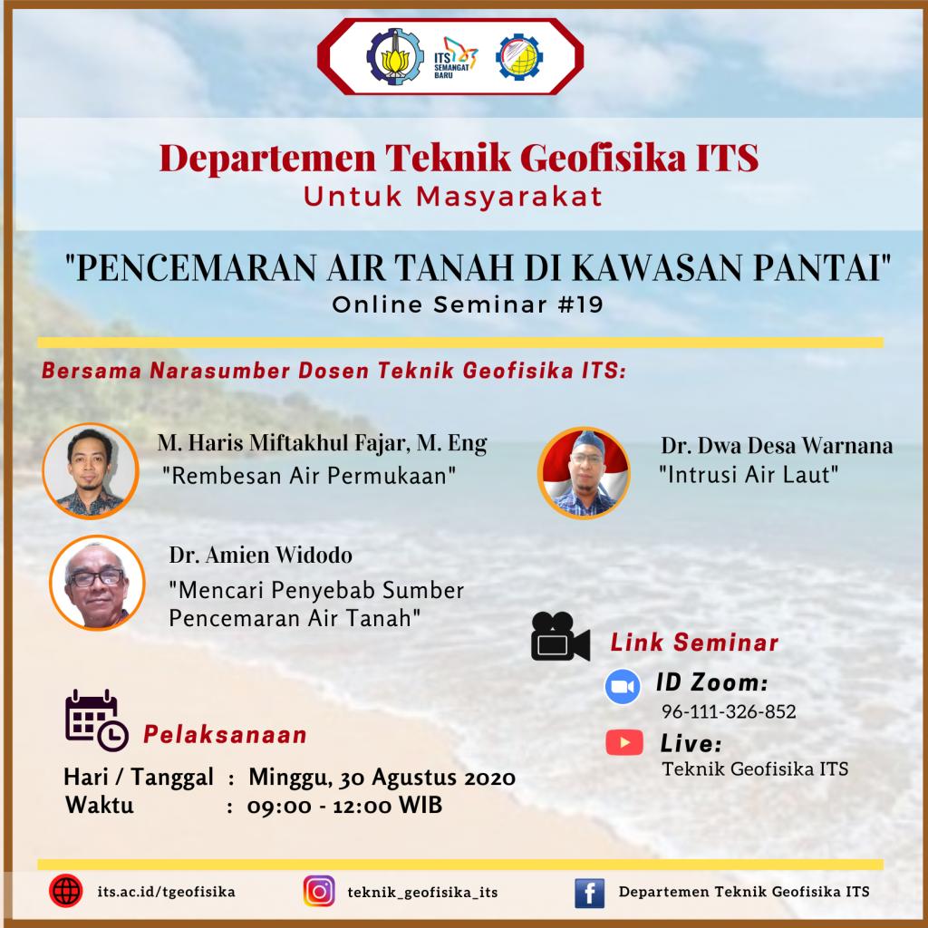 Seminar Online Departemen Teknik Geofisika ITS Untuk ...