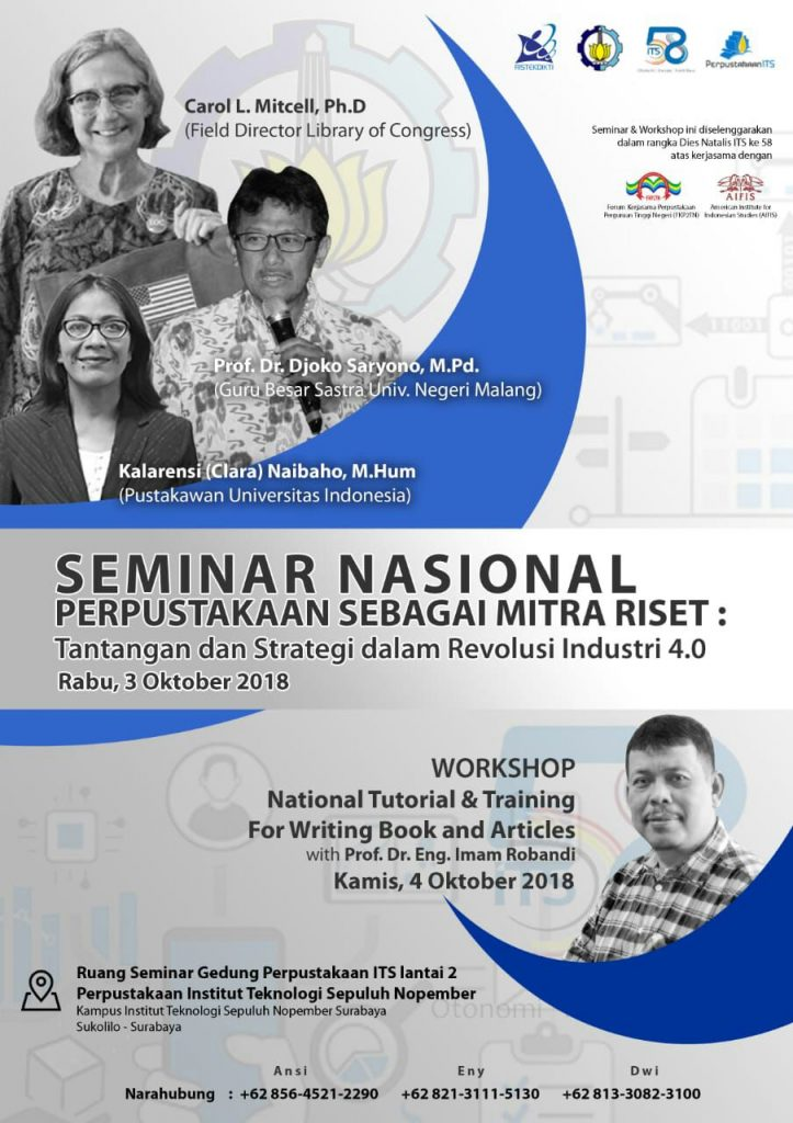 National Seminar: Library as a Research Partner