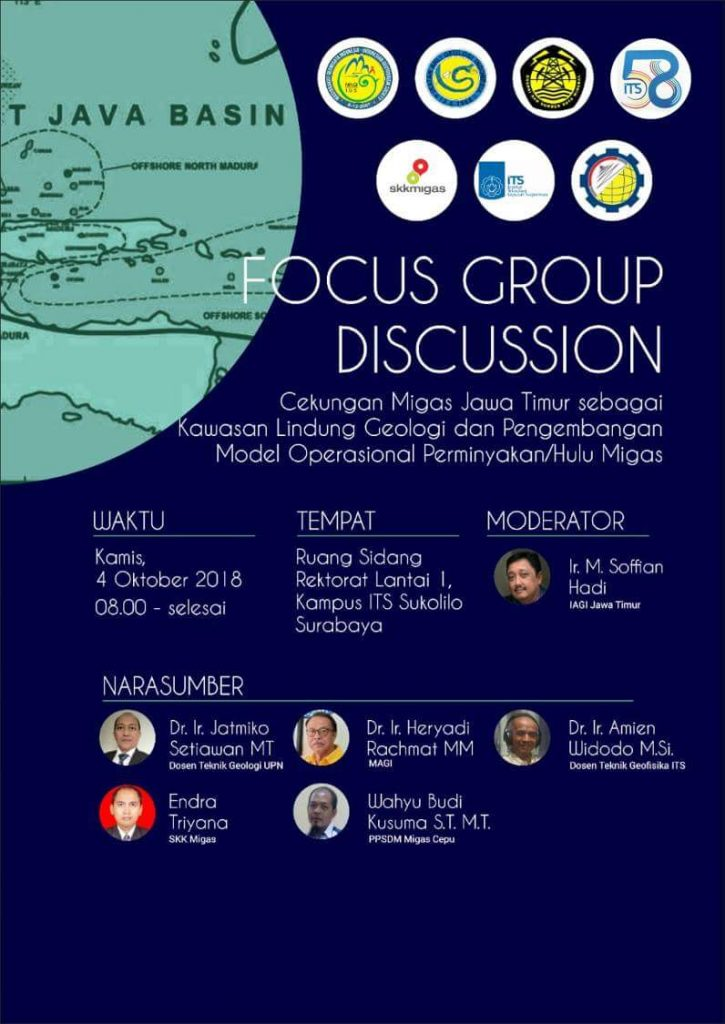 Focus Group Discussion of East Java Oil and Gas Basins