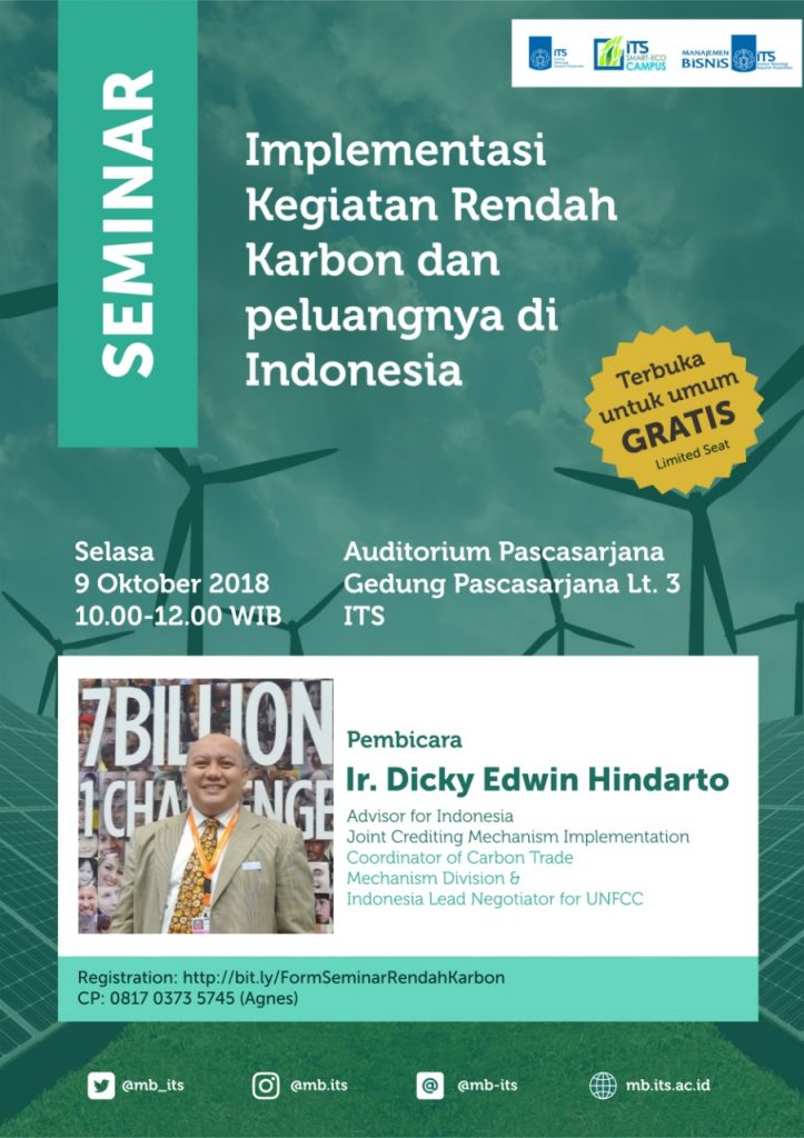 Seminar on Implementation of Low Carbon Activities and Opportunities in Indonesia