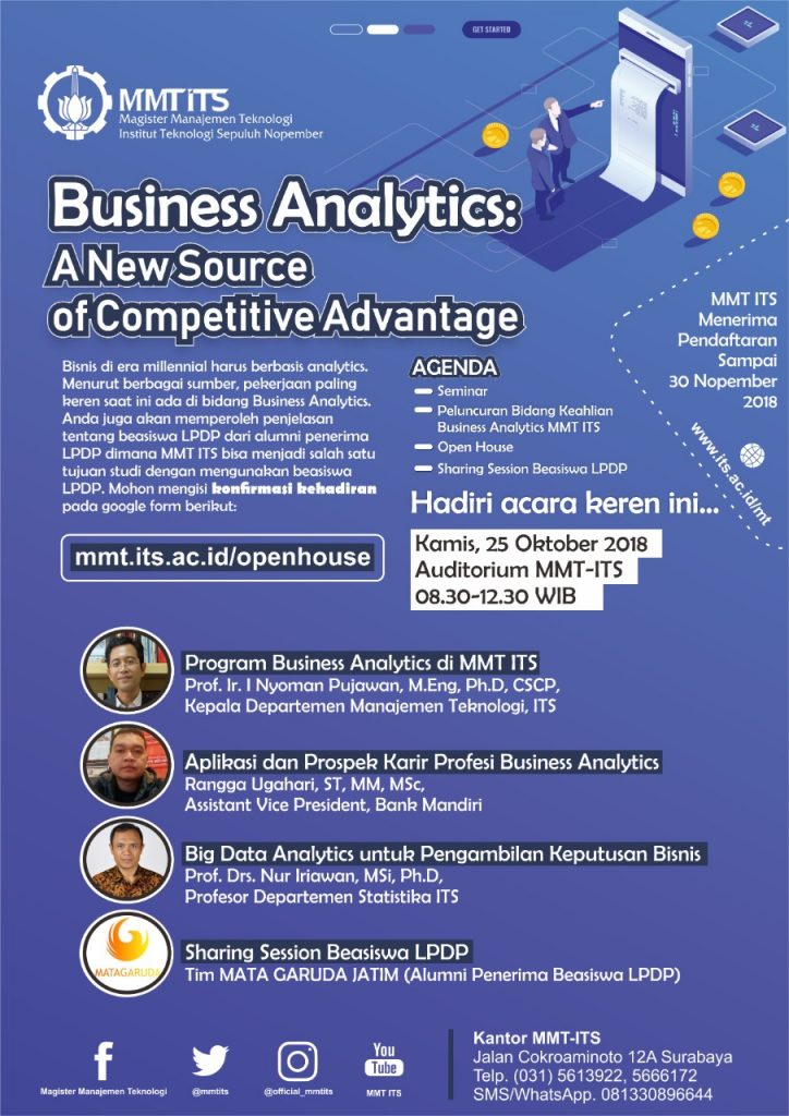MMT ITS Business Analytics Seminar