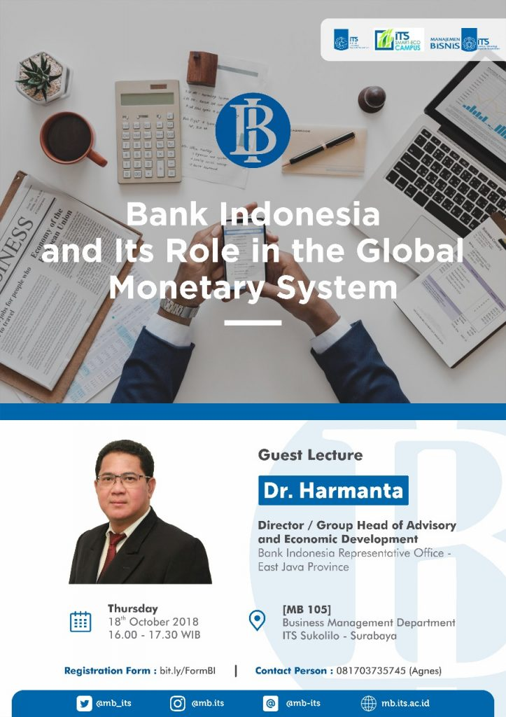 Bank Indonesia Guest Lecture