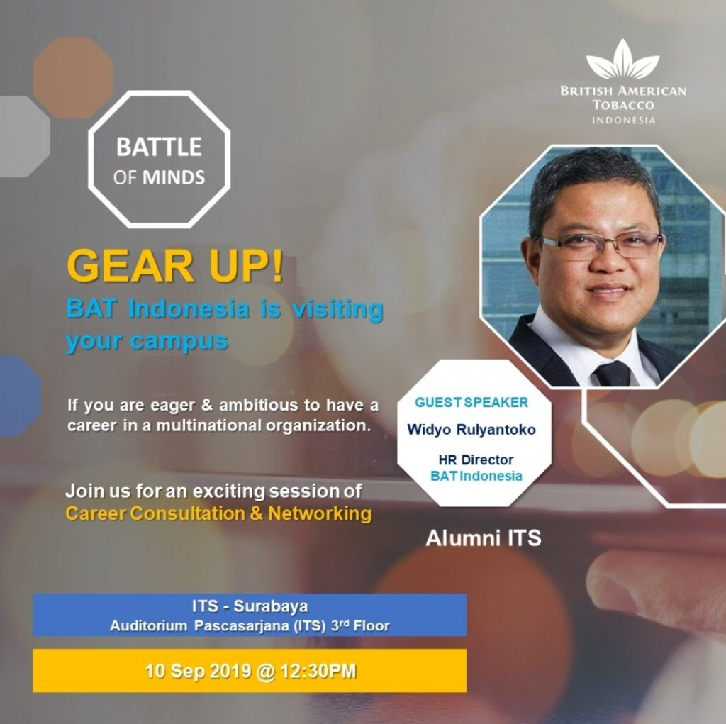 Career Consultation & Networking Session – British American Tobacco Indonesia