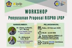Workshop : Proposal Rispro LPDP