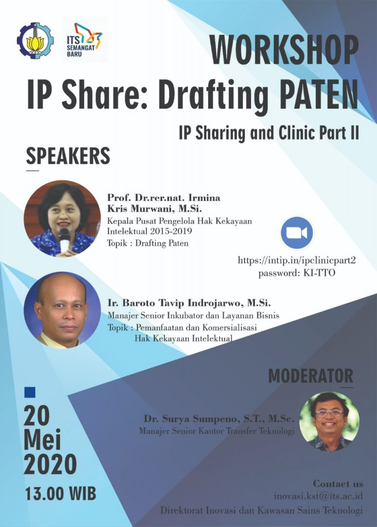 IP Sharing and Clinic Patent II – IP Share : Drafting PATEN