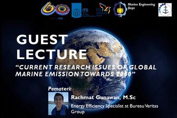 Guest Lecture Departement of Marine Engineering