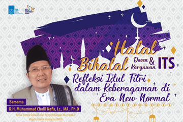 Halal Bihalal Lecture and Staff ITS 2020